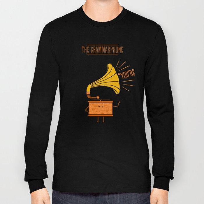 Grammarphone Long Sleeve T-shirt