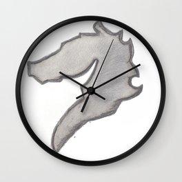 Iron Horse Wall Clock