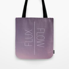 Flux & Flow Tote Bag