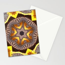 Hearts (from a JCB earth-mover (#2)) Stationery Cards