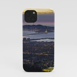 Magic Hour of the SF Bay Area iPhone Case