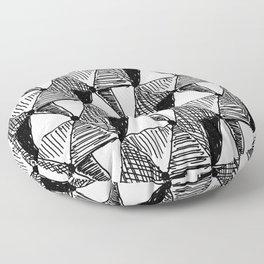 Vintage Diamond Pattern Floor Pillow