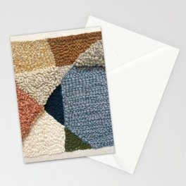 Interests Collide Rug Hooked Art Stationery Cards
