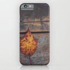 vintage leaf. iPhone 6s Slim Case
