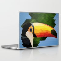 toucan Laptop & iPad Skins featuring toucan by gazonula