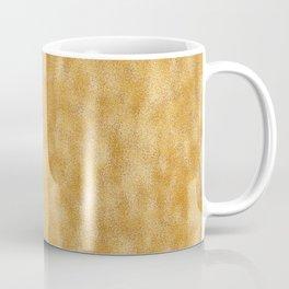 Mottled Gold Foil Coffee Mug
