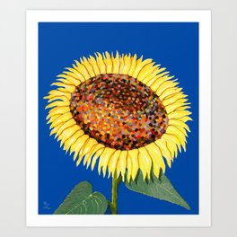 Mumsie's SunFlower Art Print