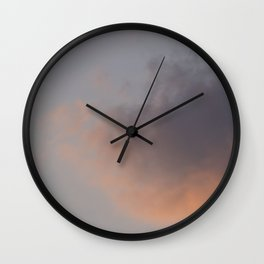 Sebago Lake Sunset Wall Clock