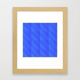 Interpretive Weaving (Nightfall) Framed Art Print