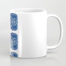 I Still Shoot Film Holga Logo - Blue Coffee Mug