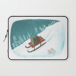 sled post Laptop Sleeve