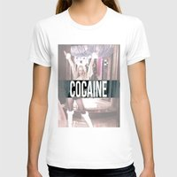cocaine T-shirts featuring Cocaine by Randall Hansen