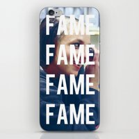 britney spears iPhone & iPod Skins featuring FAME - BRITNEY SPEARS by Beauty Killer Art