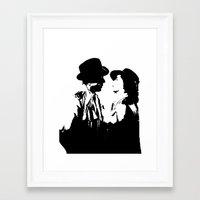 casablanca Framed Art Prints featuring Casablanca by Ning Watson
