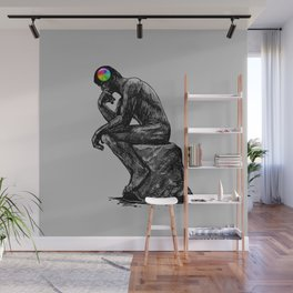 iThink Wall Mural