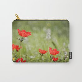 Anemones in the Sun Carry-All Pouch
