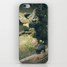 Temporary Happiness part 2 bear iPhone Skin