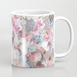 Pastel pink pansies splatter Coffee Mug
