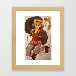 the absolutely amazing squirrel girl Framed Art Print