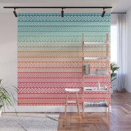 Colorful pattern #4 Wall Mural