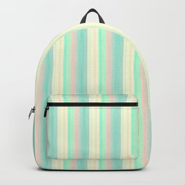 Turquoise Light Yellow Scrapbook Sherbert Backpack
