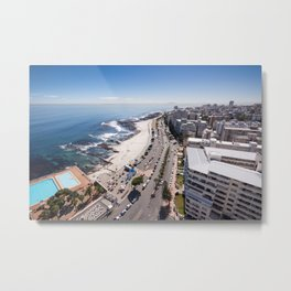 Sea Point in Cape Town, South Africa Metal Print