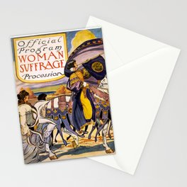 Women's March On Washington, Votes For Women, Women's Suffrage Stationery Cards