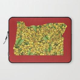Oregon in Flowers Laptop Sleeve