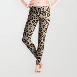 Leopard print - classic cheetah print, animal print Leggings