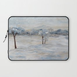 Blue Winter Day Laptop Sleeve