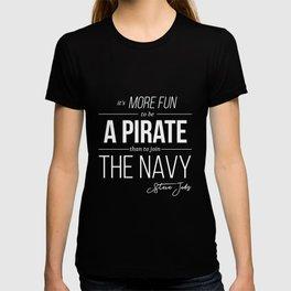 Steve Jobs Motivational Quote T-shirt