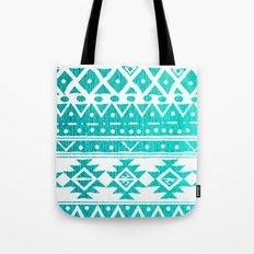 AQUAMARINE TRIBAL  Tote Bag