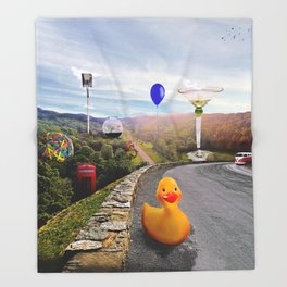 Roadside Attractions Throw Blanket