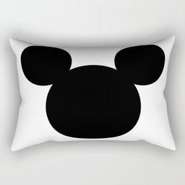 Mouse head Rectangular Pillow
