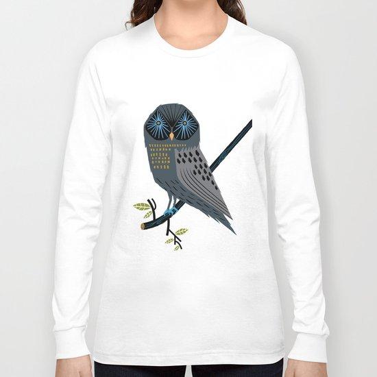 The Perching Owl Long Sleeve T-shirt