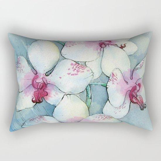 Orchids 01 Rectangular Pillow