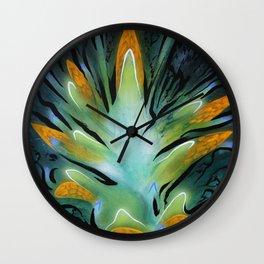 Shuttleflower Redux Wall Clock
