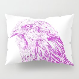 she's a beauty drawing, purple Pillow Sham