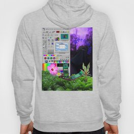 Dark windows vapowave Aesthetics Hoody