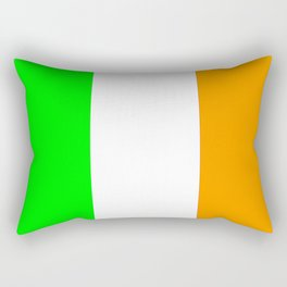 flag of ireland 5 -ireland,eire,airlann,irish,gaelic,eriu,celtic,dublin,belfast,joyce,beckett Rectangular Pillow