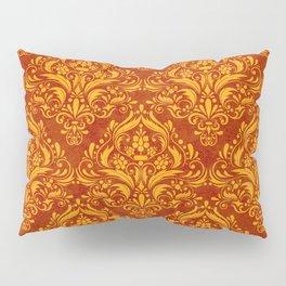 Halloween damask colors #2 Pillow Sham