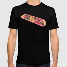 Back To The Future Part II Black 2X-LARGE Mens Fitted Tee