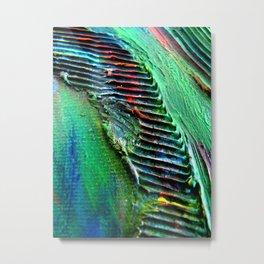 Reptilian Scales Metal Print