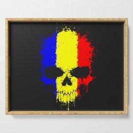 Romanian skull Serving Tray