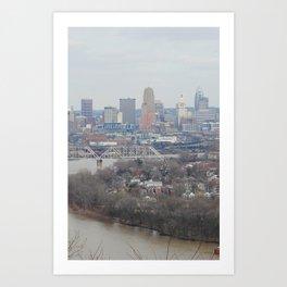 Cincinnati, Ohio Art Print