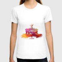 vienna T-shirts featuring Vienna skyline by jbjart