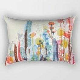 petit jardin 2 Rectangular Pillow