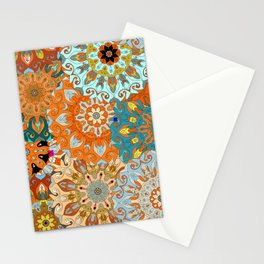 Boho Mandela Pattern 1 Stationery Cards