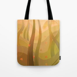 Enchanting Autumn Forest Tote Bag