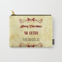 Merry Christmas ya filthy muggle Carry-All Pouch